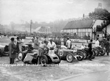 Thomas (Munday-Francis) Riley(Paul-Philip) (Whitcroft)  (Campbell-Staniland) 500 1932. Brooklands